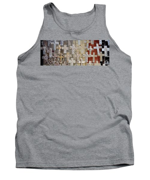 Large Group Of Crucifixes, San Miguel Tank Top