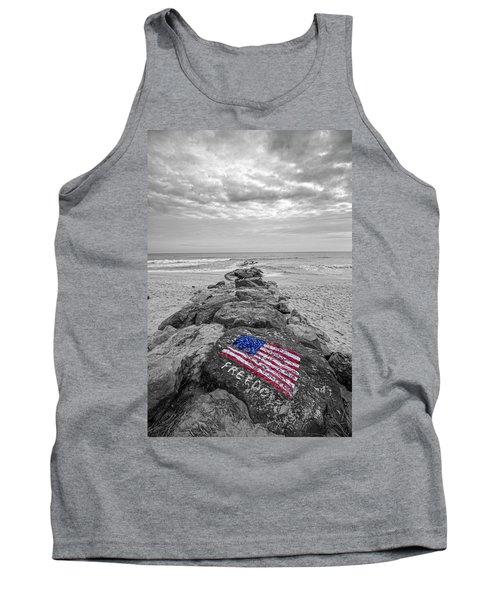 Lashley Beach Freedom Tank Top