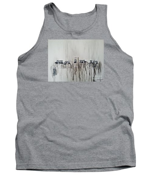 Last Supper Tank Top by Fei A