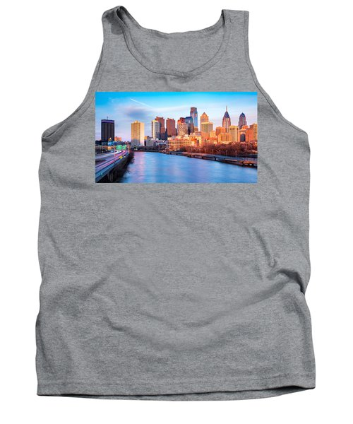 Late Afternoon In Philadelphia Tank Top