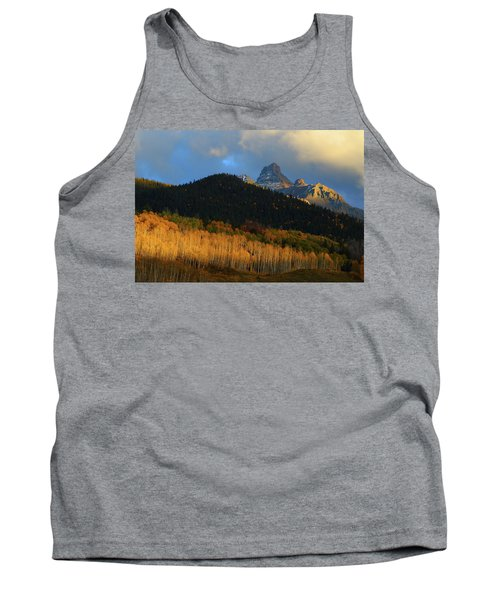 Late Afternoon Light On The San Juans Tank Top