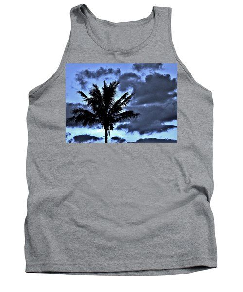 Late Day Palm Tank Top