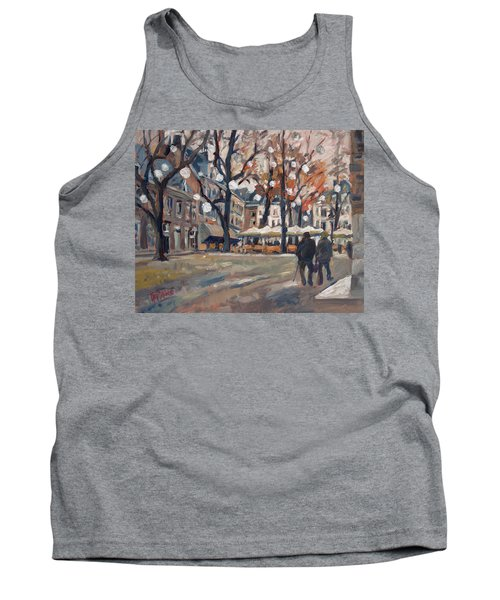 Late November At The Our Lady Square Maastricht Tank Top