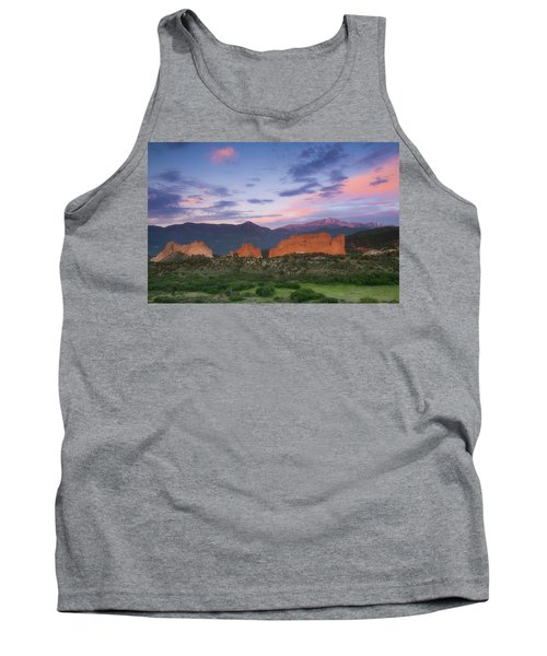 Late Spring Sunrise Tank Top by Tim Reaves