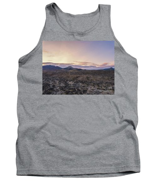 Lava Field Flyby  Tank Top