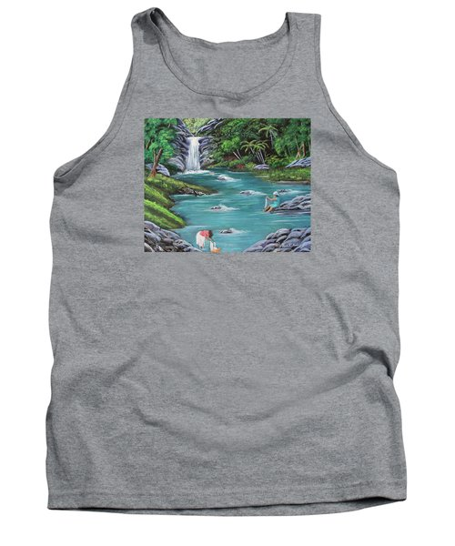 Lavando Ropa    Washing Clothes Tank Top