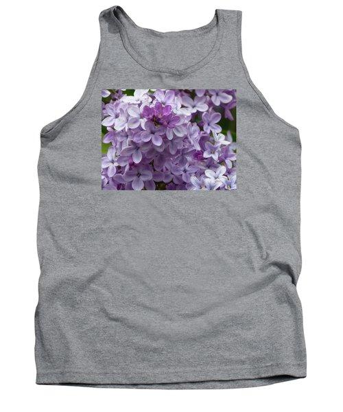 Lavender Lilacs Tank Top