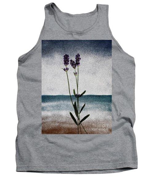Lavender Ocean Breath Tank Top