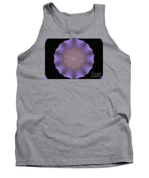 Lavender Pinwheel Tank Top