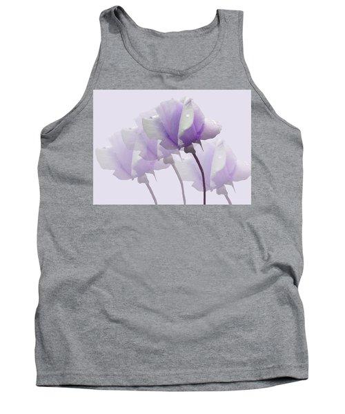 Lavender Roses  Tank Top