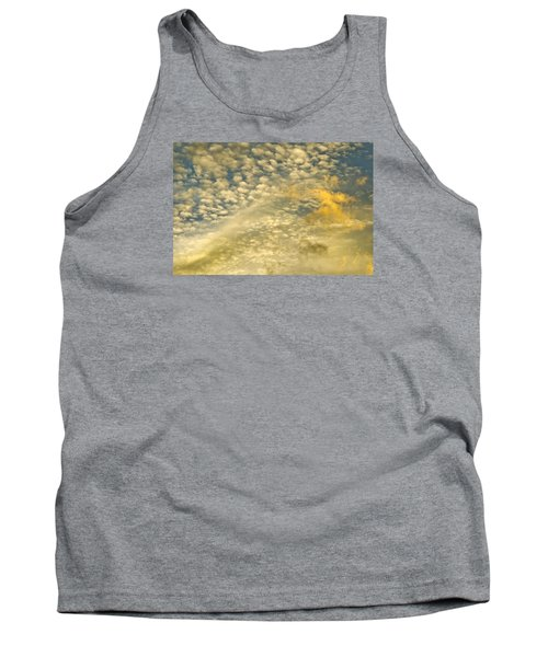Tank Top featuring the photograph Layers Of Sky by Wanda Krack