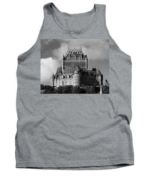 Le Chateau Frontenac - Quebec City Tank Top by Juergen Weiss