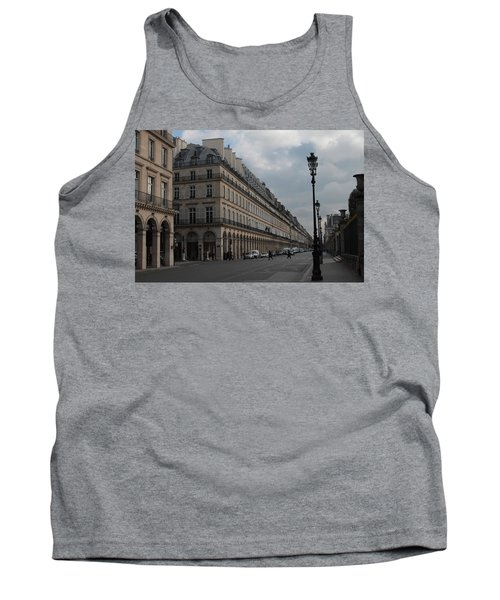 Tank Top featuring the photograph Le Meurice Hotel, Paris by Christopher Kirby