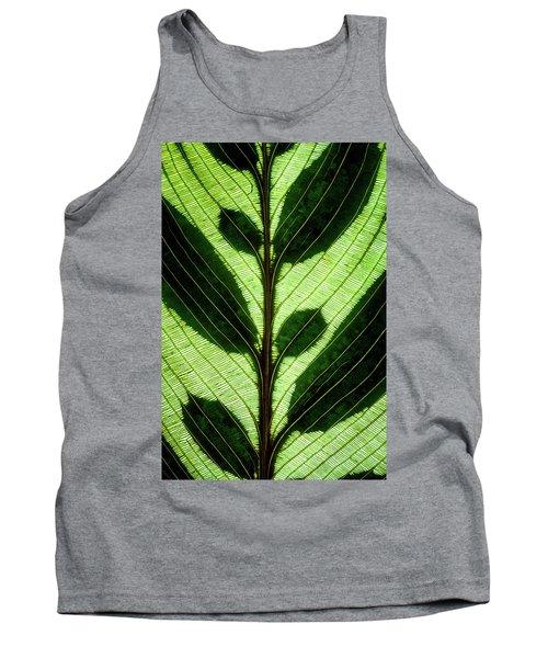 Leaf Detail Tank Top
