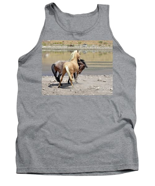 Tank Top featuring the photograph Learning To Fight by Lula Adams