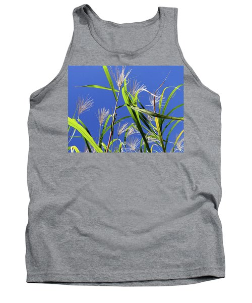 Leaves In The Wind Tank Top