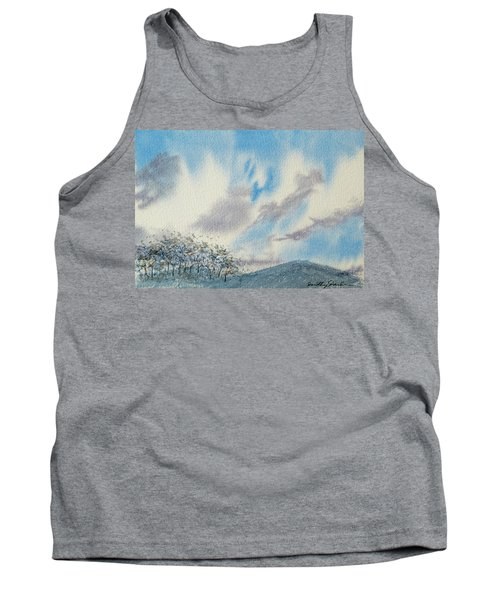 The Blue Hills Of Summer Tank Top