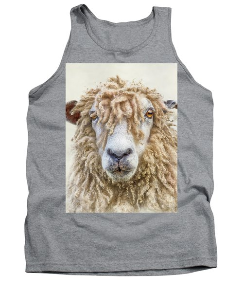 Leicester Longwool Sheep Tank Top by Linsey Williams