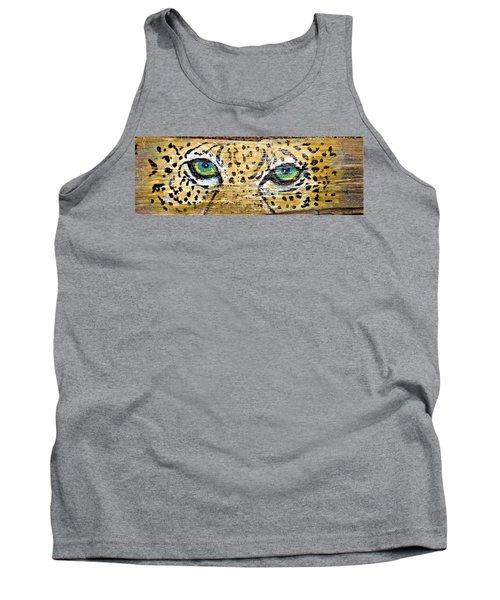 Leopard Eyes Tank Top