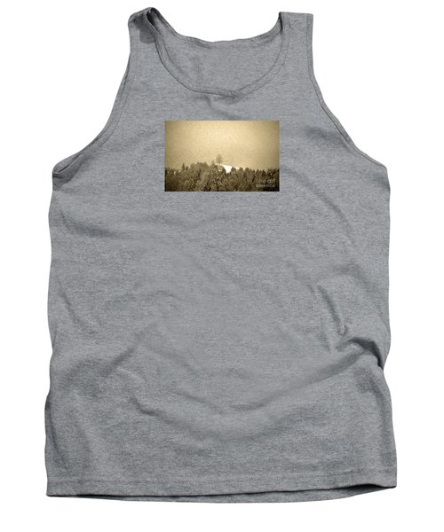 Tank Top featuring the photograph Let It Snow - Winter In Switzerland by Susanne Van Hulst