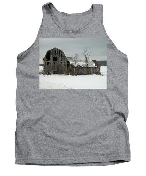 Letchworth Barn 0077b Tank Top