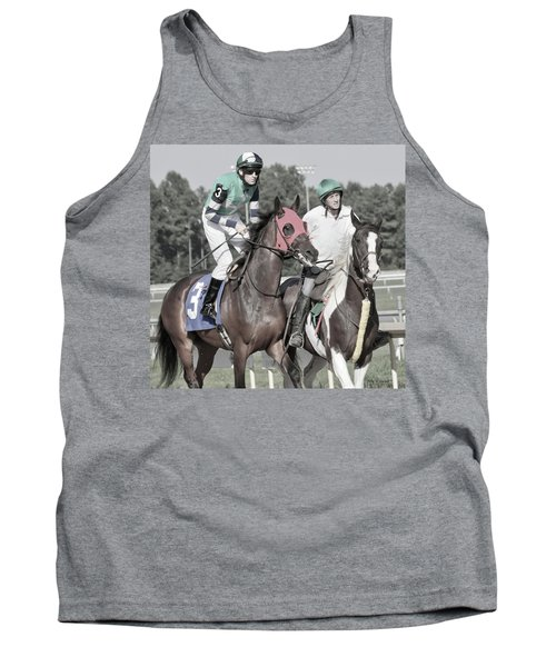 Let's Get'um To The Gate Tank Top