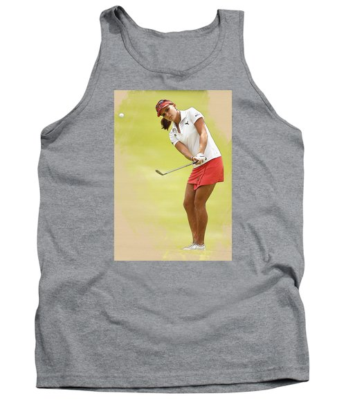 Lexi Thompson Chips To The First Green  Tank Top