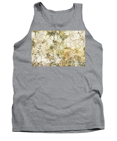 Tank Top featuring the photograph Lichen On A Stone, Background by Torbjorn Swenelius