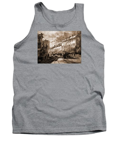 Life In The City Tank Top by Mikhail Savchenko