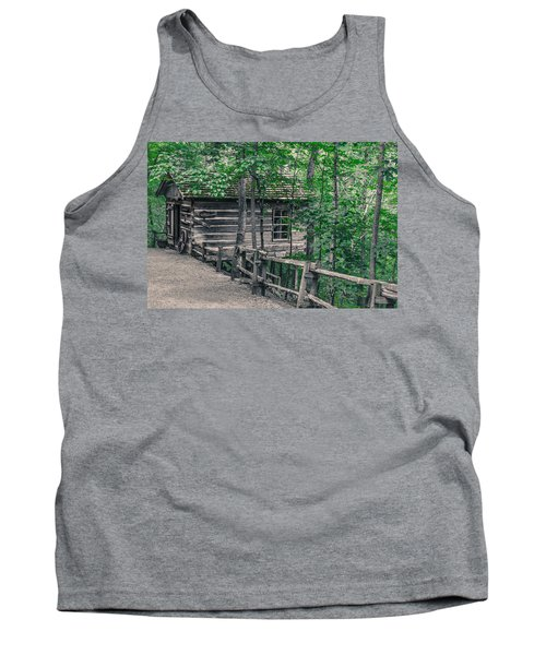 Tank Top featuring the photograph Life In The Ozarks by Annette Hugen