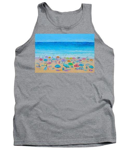 Life On The Beach Tank Top by Jan Matson
