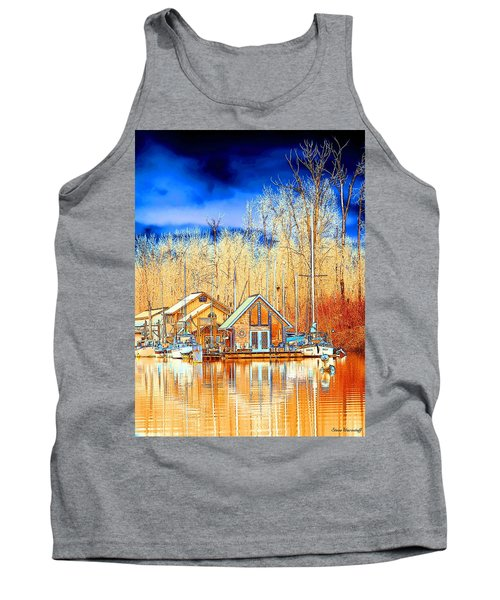 Life On The River Tank Top by Steve Warnstaff