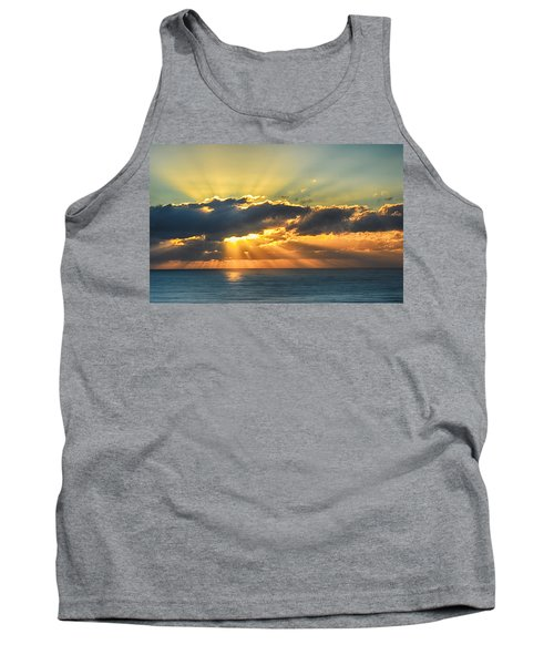 Light Explosion Tank Top by AJ Schibig