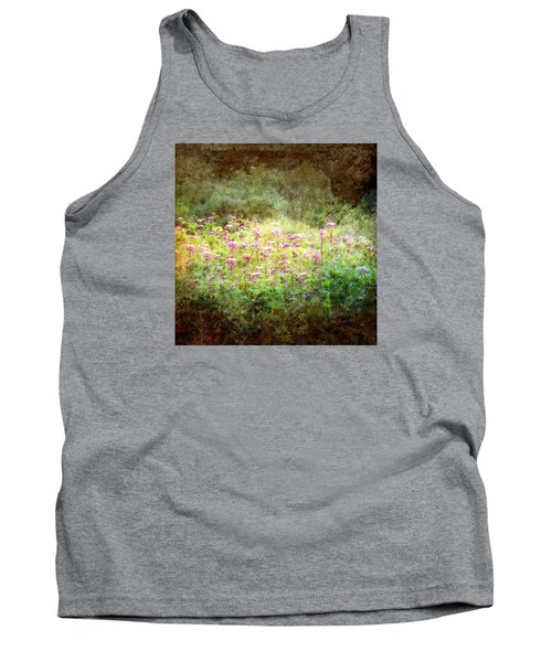 Tank Top featuring the photograph Light In The Forest by Robin Regan