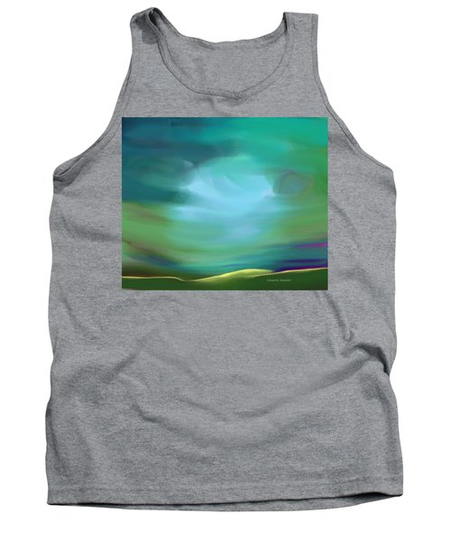 Light In The Storm Tank Top by Lenore Senior