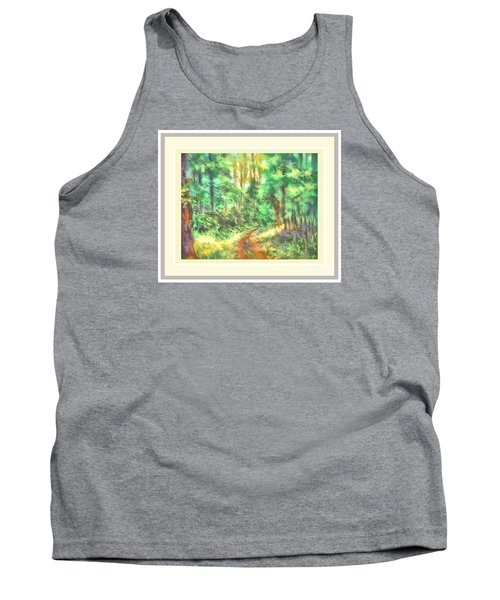 Light On The Path Tank Top by Shirley Moravec
