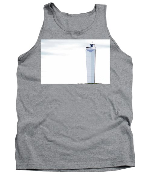 Tank Top featuring the photograph Lighthouse At Cape Jervis by Stephen Mitchell