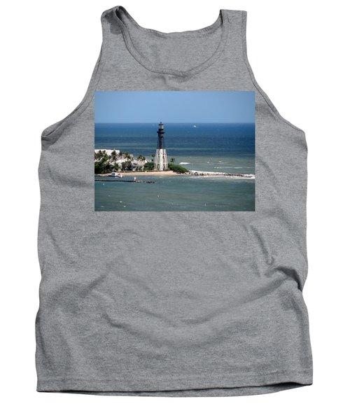 Lighthouse At Hillsboro Beach, Florida Tank Top