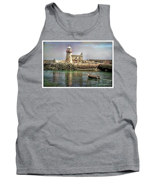 Lighthouse At Howth, Ireland Tank Top