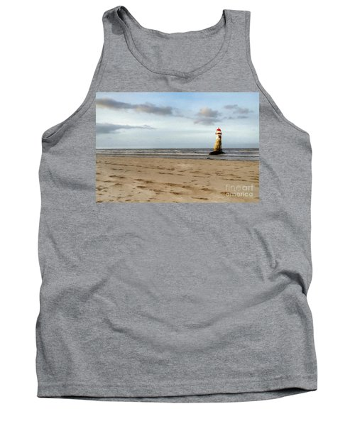 Lighthouse At Talacre Tank Top