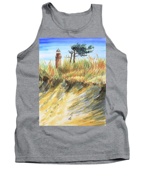 Lighthouse At The Beach Tank Top