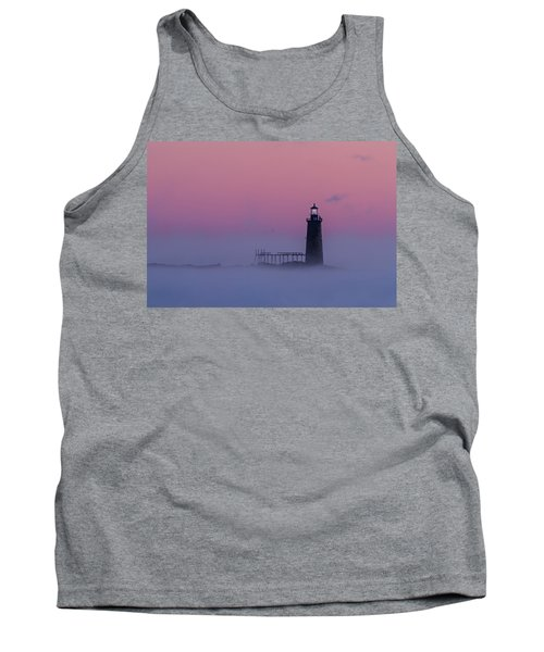 Lighthouse In The Clouds Tank Top
