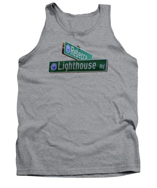 Lighthouse Road Tank Top by Brian MacLean