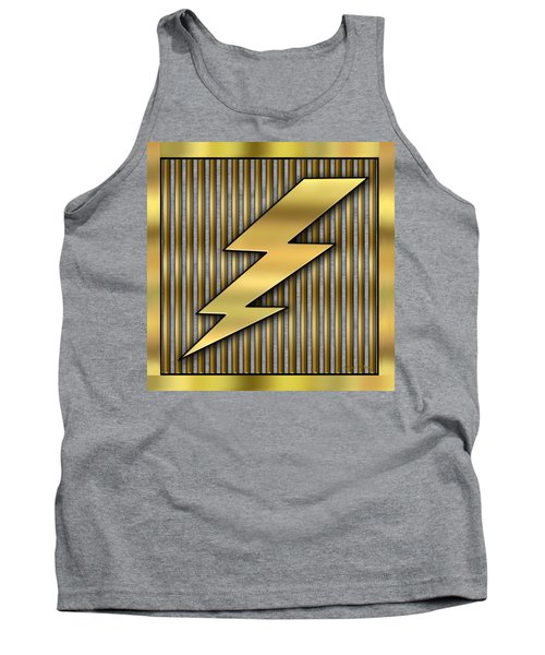 Lightning Bolt Tank Top by Chuck Staley