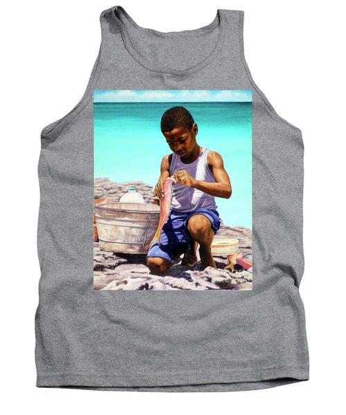 Lil Fisherman Tank Top