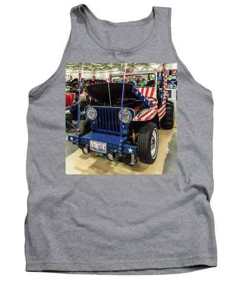 Tank Top featuring the photograph Lil Ugly by Randy Scherkenbach