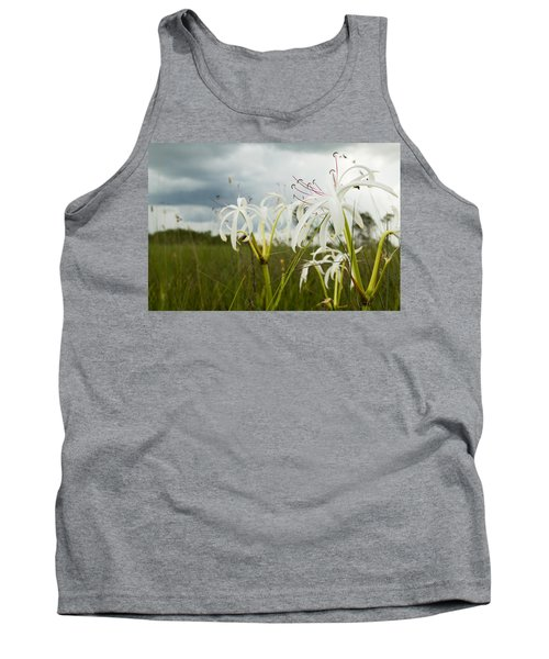 Lilies Thunder Tank Top by Christopher L Thomley