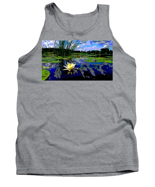 Lily Pond Tank Top by Charles Shoup