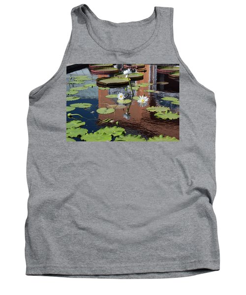 Lily Pond Reflections Tank Top