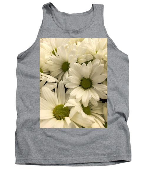 Lime Center Tank Top